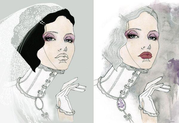 Perfecto Cover by Svetlana Ihsanova, via Behance