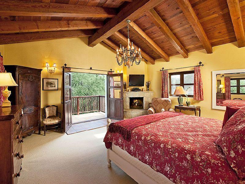 Beautiful Spanish Hacienda In Santa Barbara | dream bedroom ...