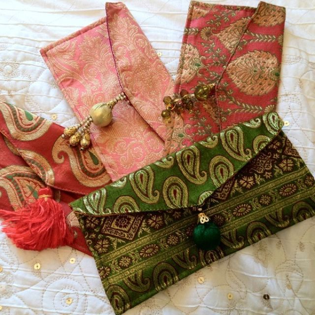 "Indian Wedding Gifts Ideas: These Are Indian ""shagun"" Envelopes, Used During The"