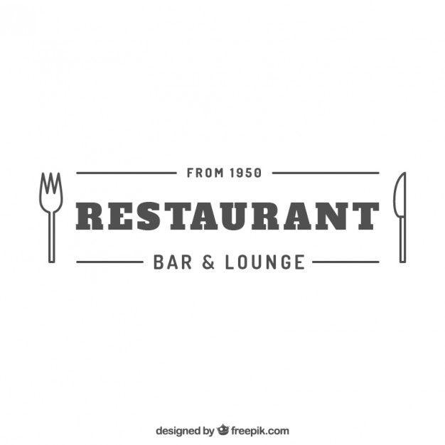 100 recursos gratuitos para restaurantes | Logos