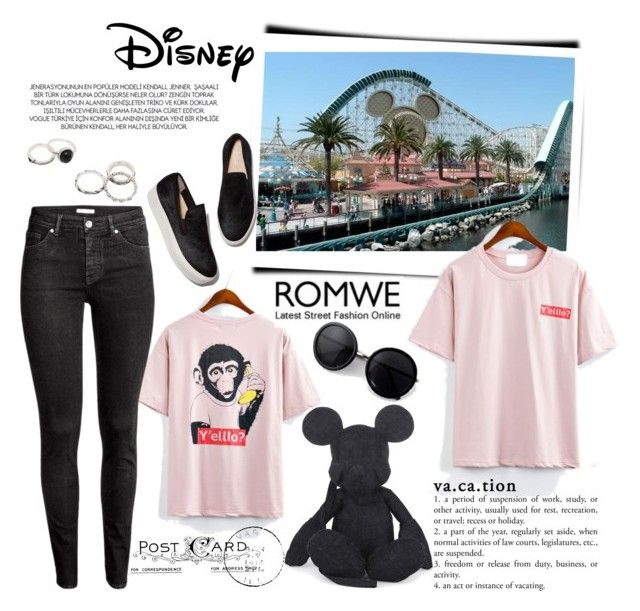 4c988525419 Postcard from Disney World - Vacation Mood by cultuerd-stylish on Polyvore  featuring polyvore fashion style H M Christopher Raeburn Disney xO Design  ...