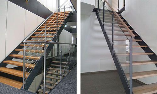 Stahl Holz Treppe trepgo gmbh plz 86947 weil individuelle stahl holz treppe