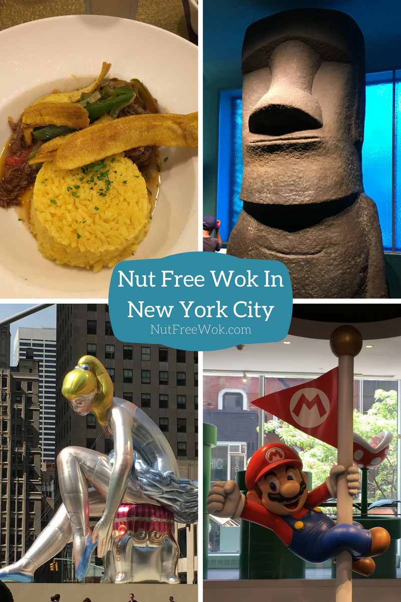 Nut Free Wok In NYC Havana Central Natural History