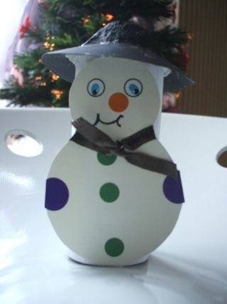 bonhomme de neige avec rouleau papier toilette idees enfant noel pinterest rouleau papier. Black Bedroom Furniture Sets. Home Design Ideas