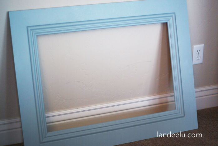 How to Build a LARGE Frame with Moulding | Large frames, How to ...