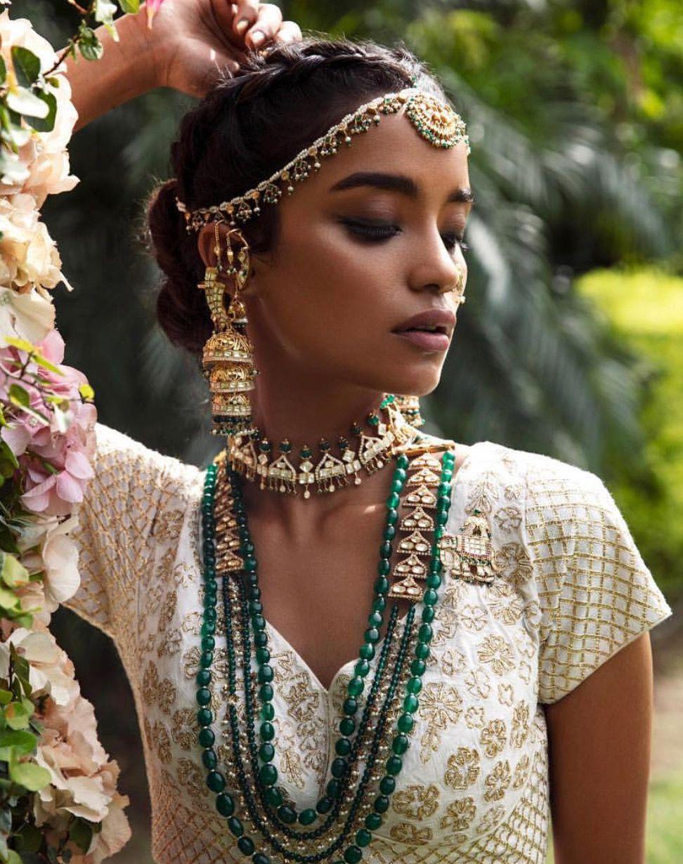 pinterest: @pawank90   jewelry in 2019   indian bridal