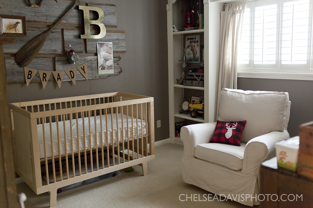 Vintage Hunting Nursery Designed By Ashley From Southern