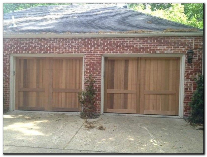 Secure Overhead Garage Doors Plano Double Garage Door Wooden