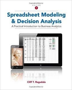 Spreadsheet modeling and decision analysis 7th edition solutions spreadsheet modeling and decision analysis 7th edition solutions manual ragsdale free download sample pdf solutions fandeluxe Image collections