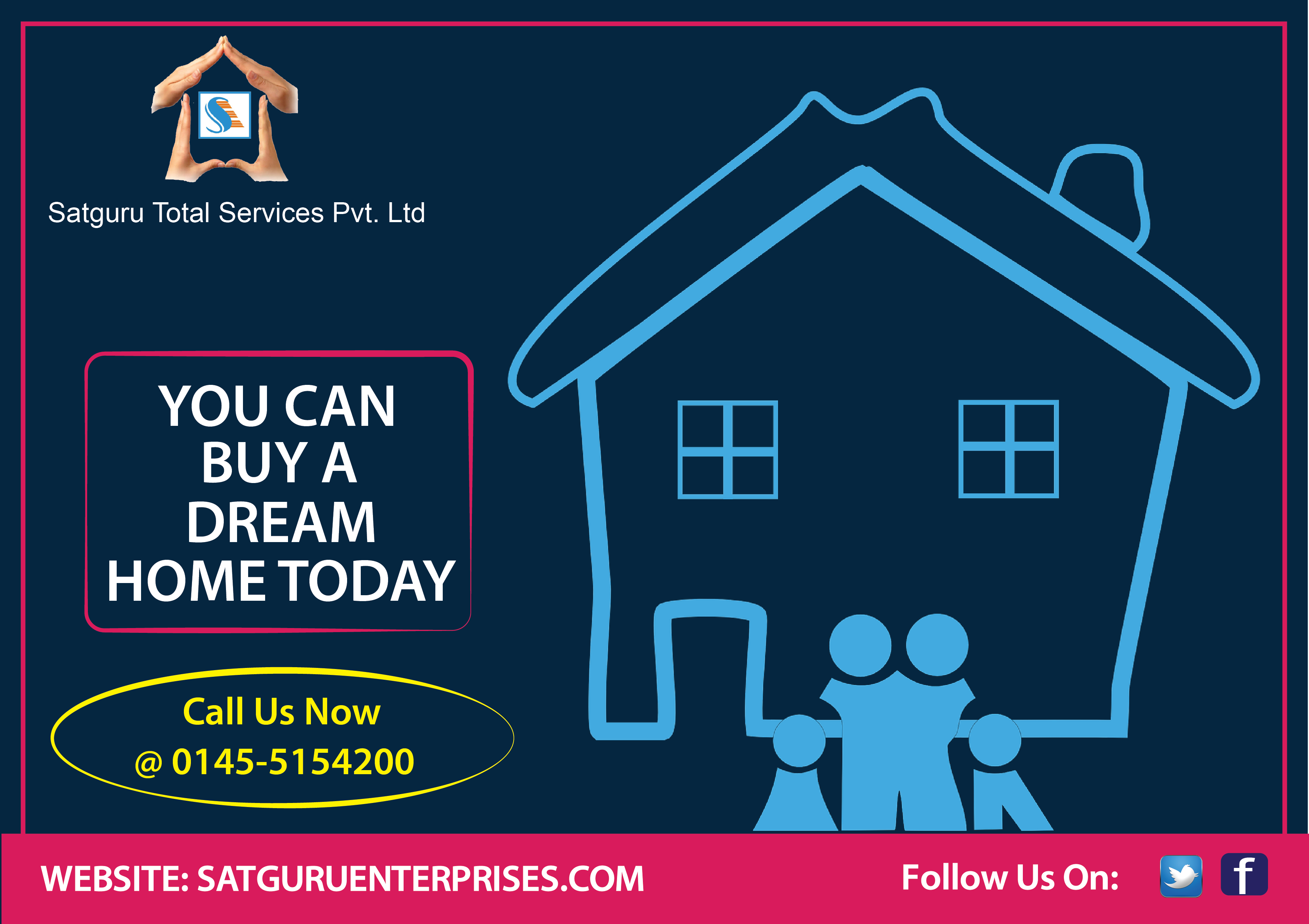 Home Loan Services By Satguru Total Services Pvt Ltd At Minimum Rates Of Interest