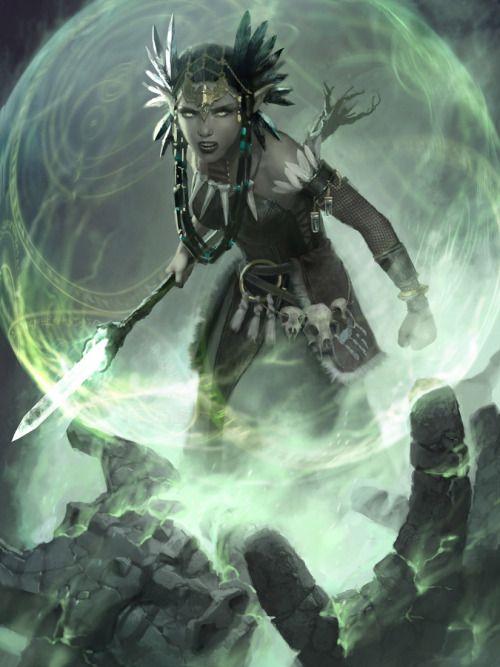 "tempusren: "" http://ralphhorsley.deviantart.com/art/Reclamation-Sage-MTG-465379177 """