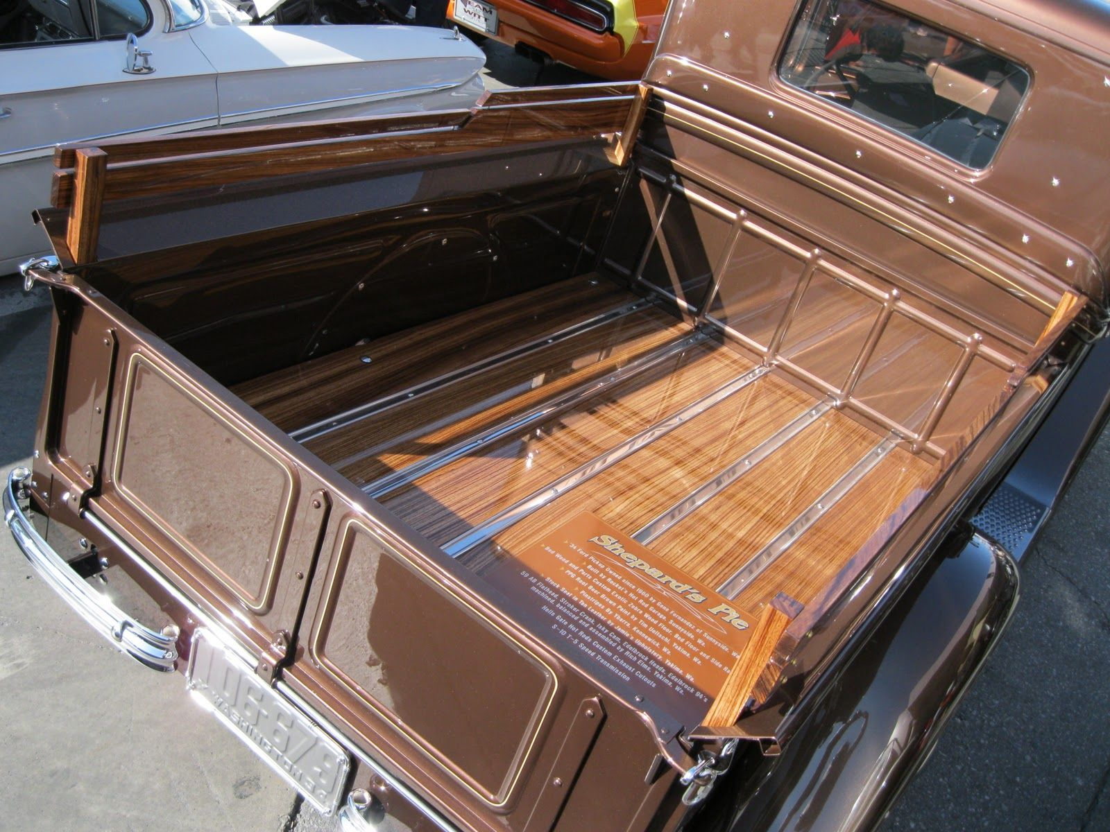Build Wood Truck Bed 1932 Ford Pickup Closed Cab