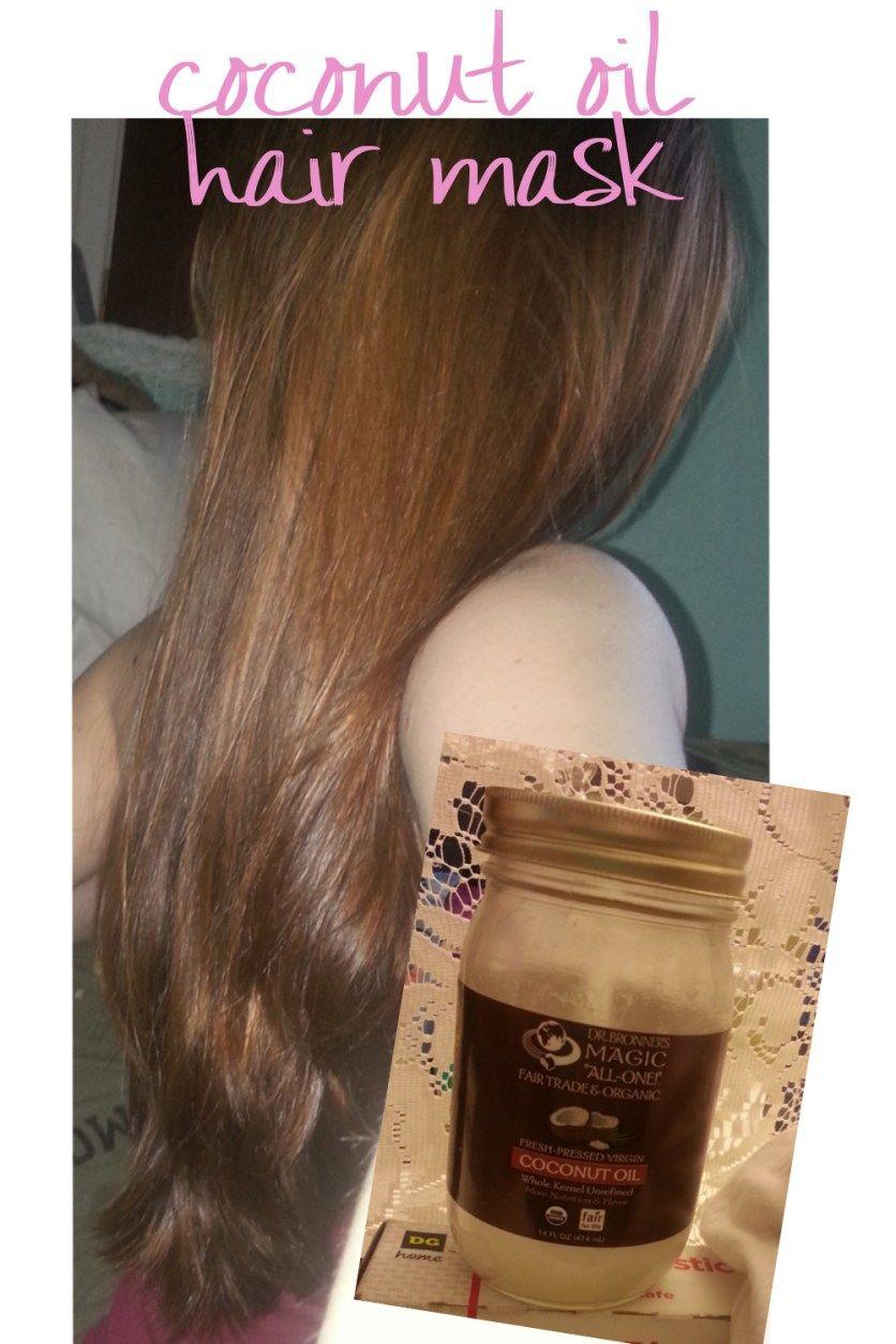 coconut oil hair mask Coconut oil hair mask, Hair oil