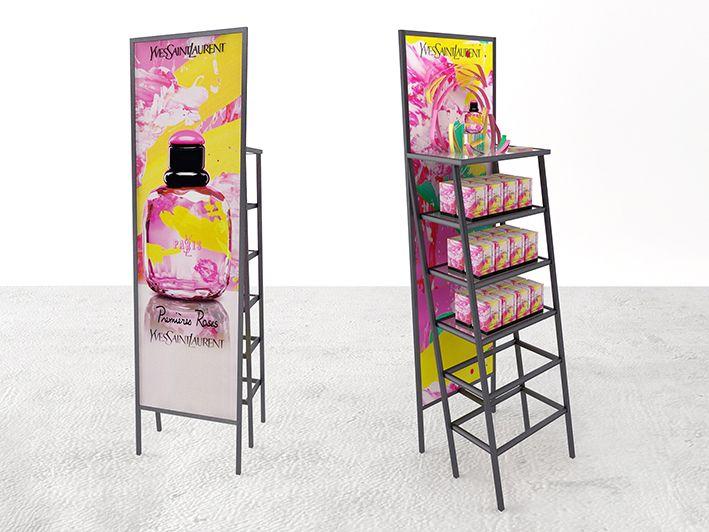 Design-retail-Podium yves saint laurent-Paris Premieres Roses-Que Houxo_By Leonard El Zein_03