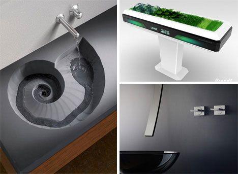 Bathroom Sink Design · Funky Furnitures: 142 Creative Modern Furniture  Designs | Urbanist