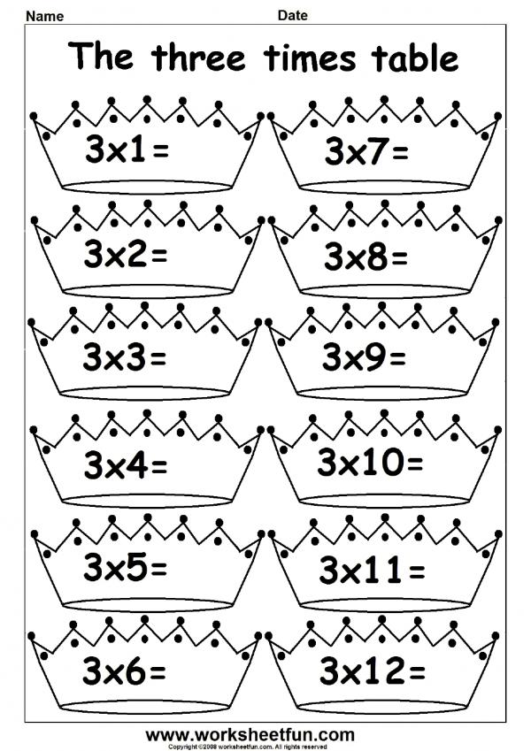 Multiplication Times Tables Worksheets 2 3 4 6 7 8 9 10 11 12 13 14 15 16 17 1 Times Tables Worksheets Fun Math Worksheets Worksheets For Kids
