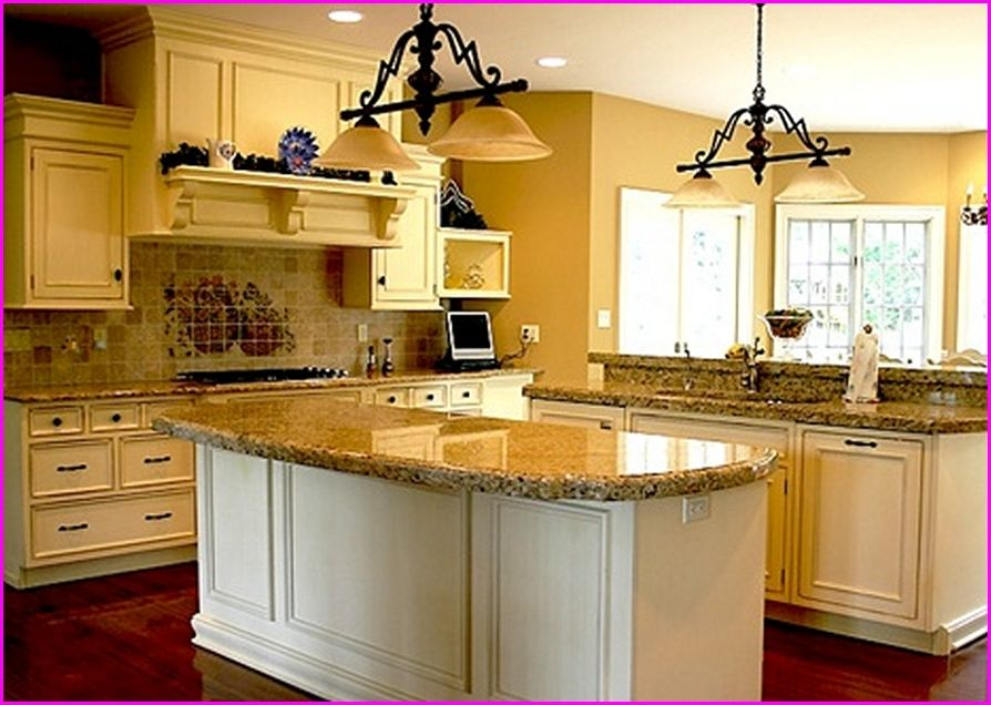 Delicieux Kitchen Paint Colors With Golden Oak Cabinets | Home Design Ideas