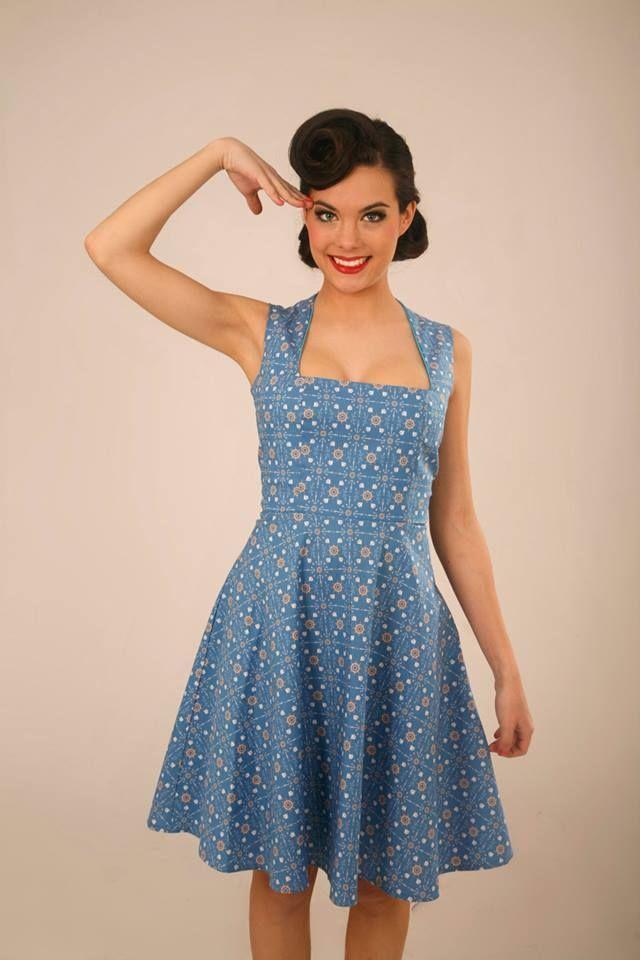 Vestido Daiquiri navy / Lady Cacahuete