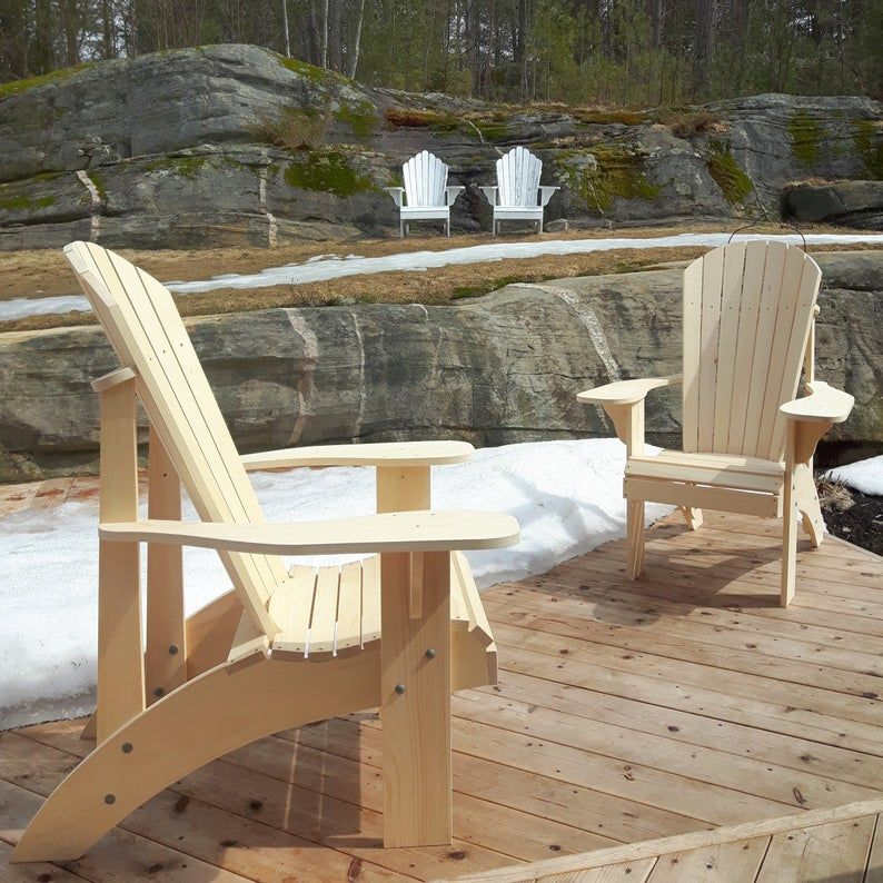 Grandma Adirondack Chair Plans Dwg Files For Cnc Machines