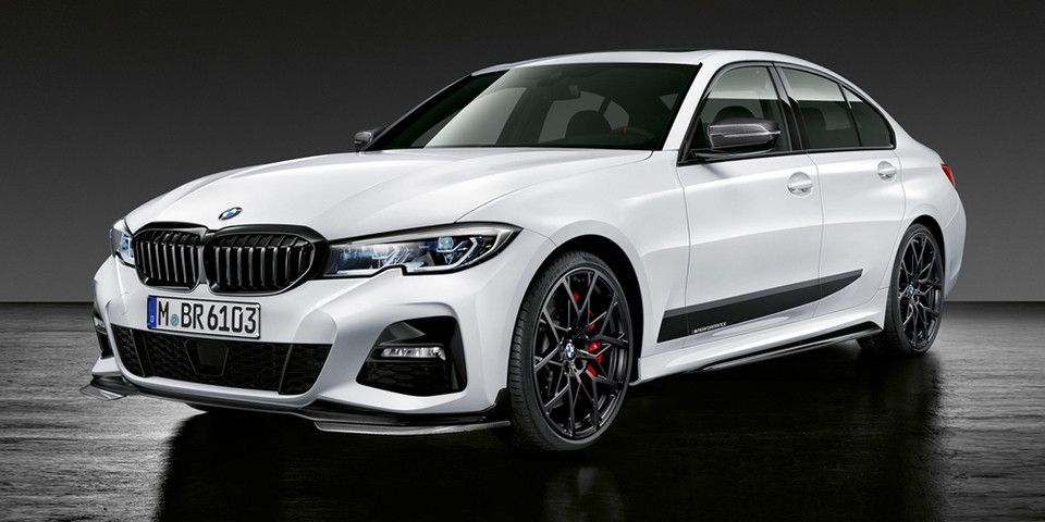 Bmw Adds A List Of M Performance Parts To The 2019 3 Series In 2020 Bmw 3 Series Bmw Bmw M9
