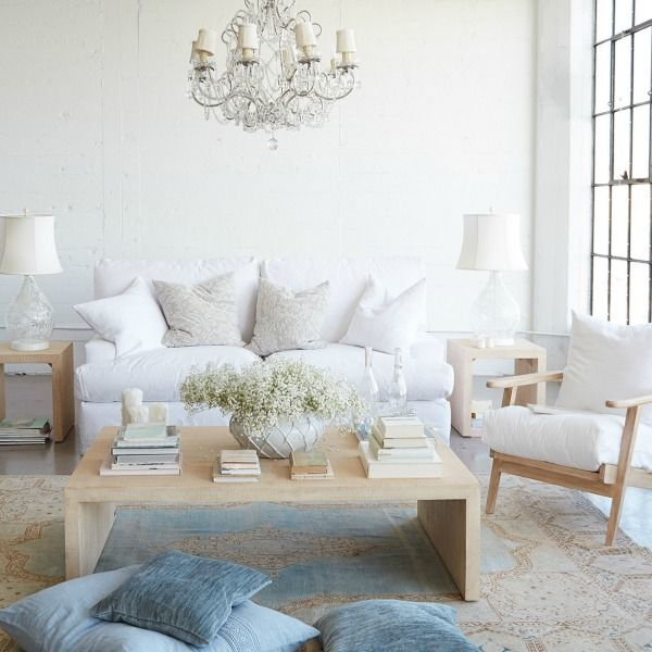 Timeworn & Tranquil Decor Inspiration: Pink and White