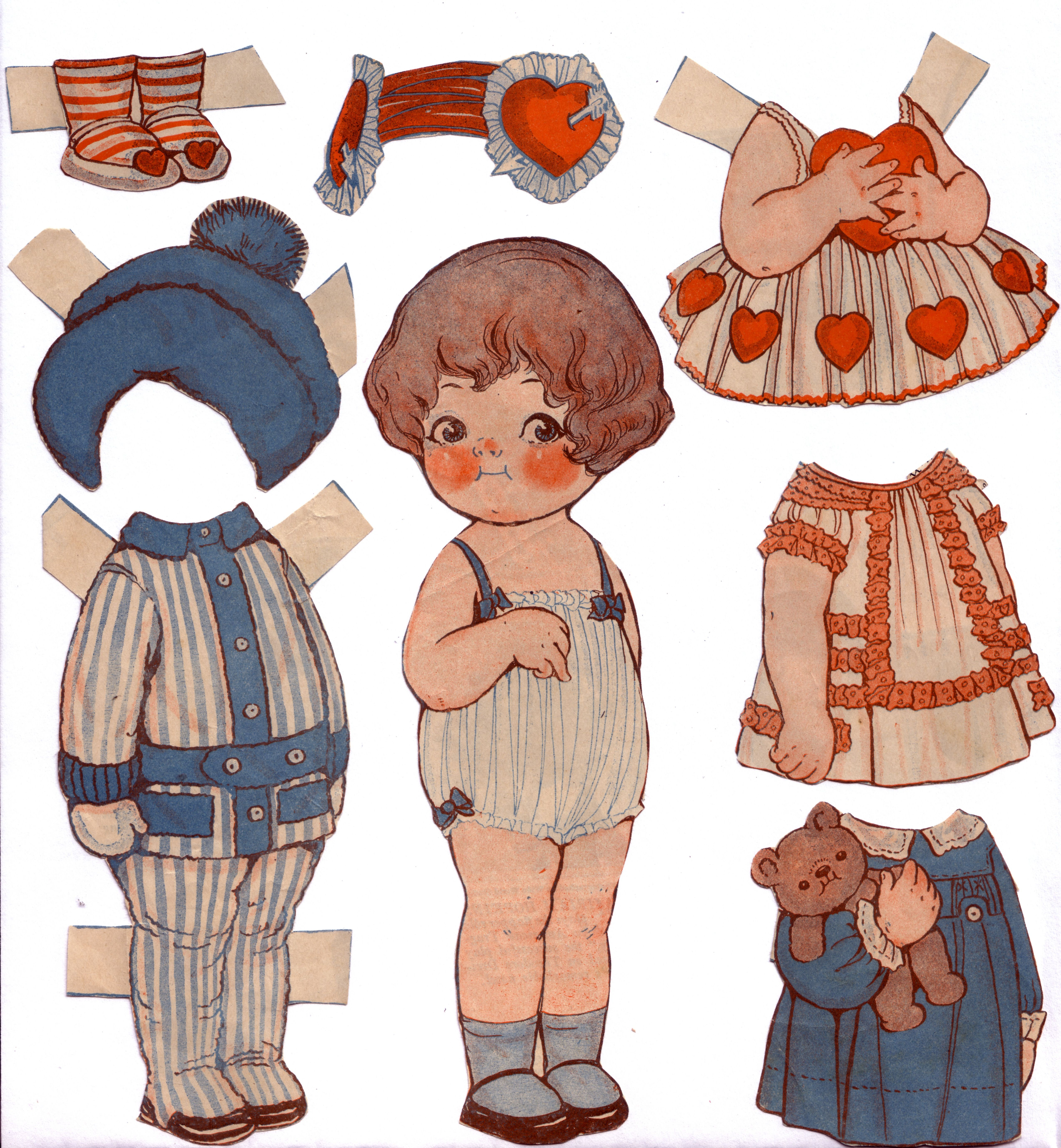 Dolly Dingle, Valentine 99009.16.10