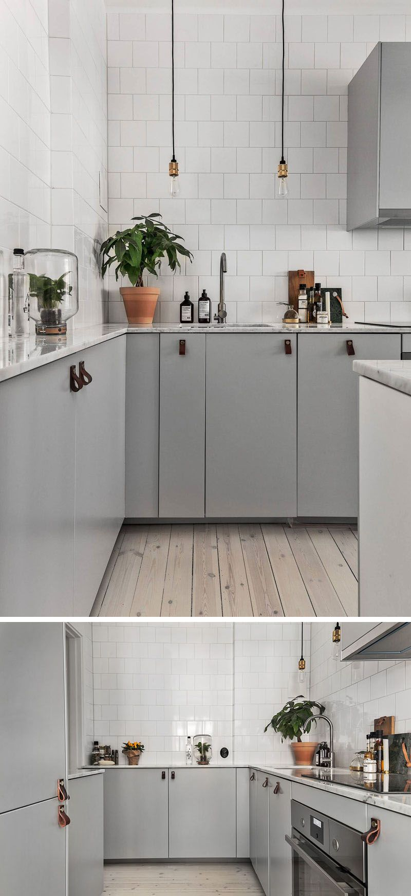12 Examples Of Sophisticated Gray Kitchen Cabinets Minimalist