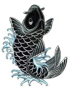 Koi Tattoo Meanings Ideas For Koi Tattoos Koi Tattoo Design Koi Tattoo Sleeve Black Koi Fish