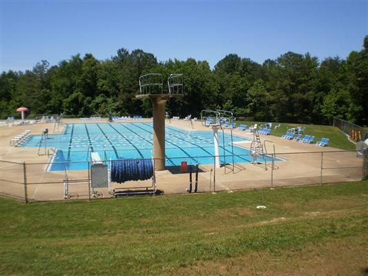 Curtis Park Pool Park Trails Olympic Size Swimming Pool Park