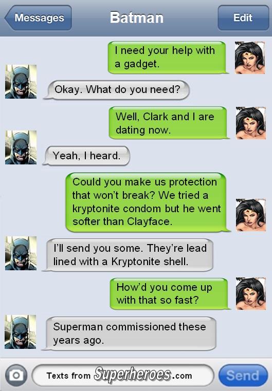 Funny superhero in sex something