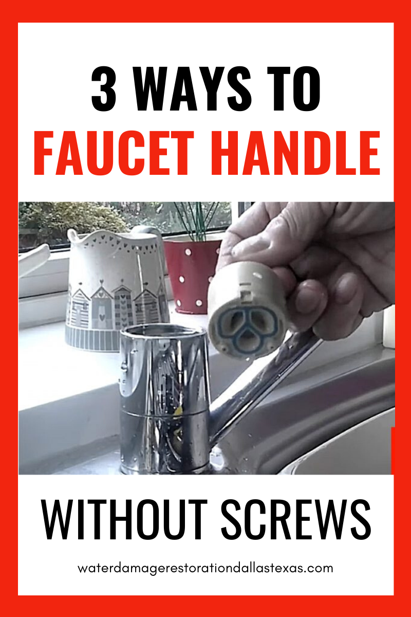 3 Ways To Remove Faucet Handle Without Screws In 2020 Faucet Handles Faucet Low Arc Faucet