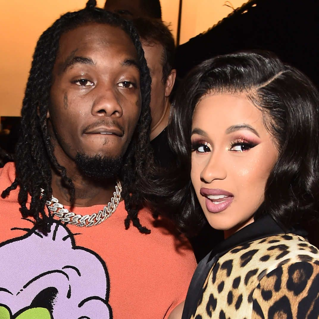 Cardi B Posts First-Ever Photo Of Her Secret Wedding To
