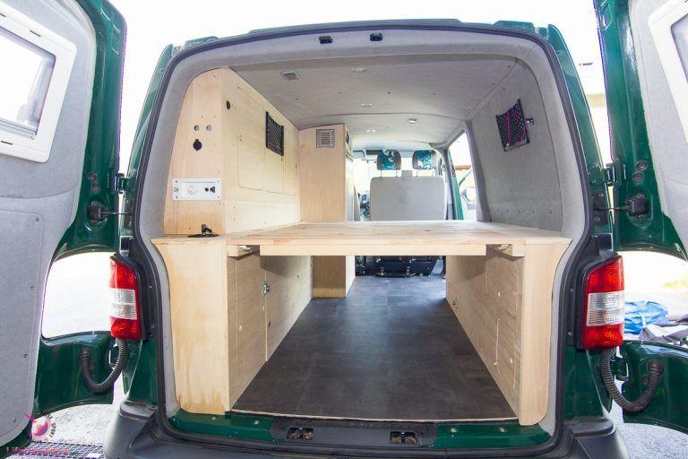 Photo of Vom Transporter zum eigenen Surfmobil: T5 Camper Ausbau