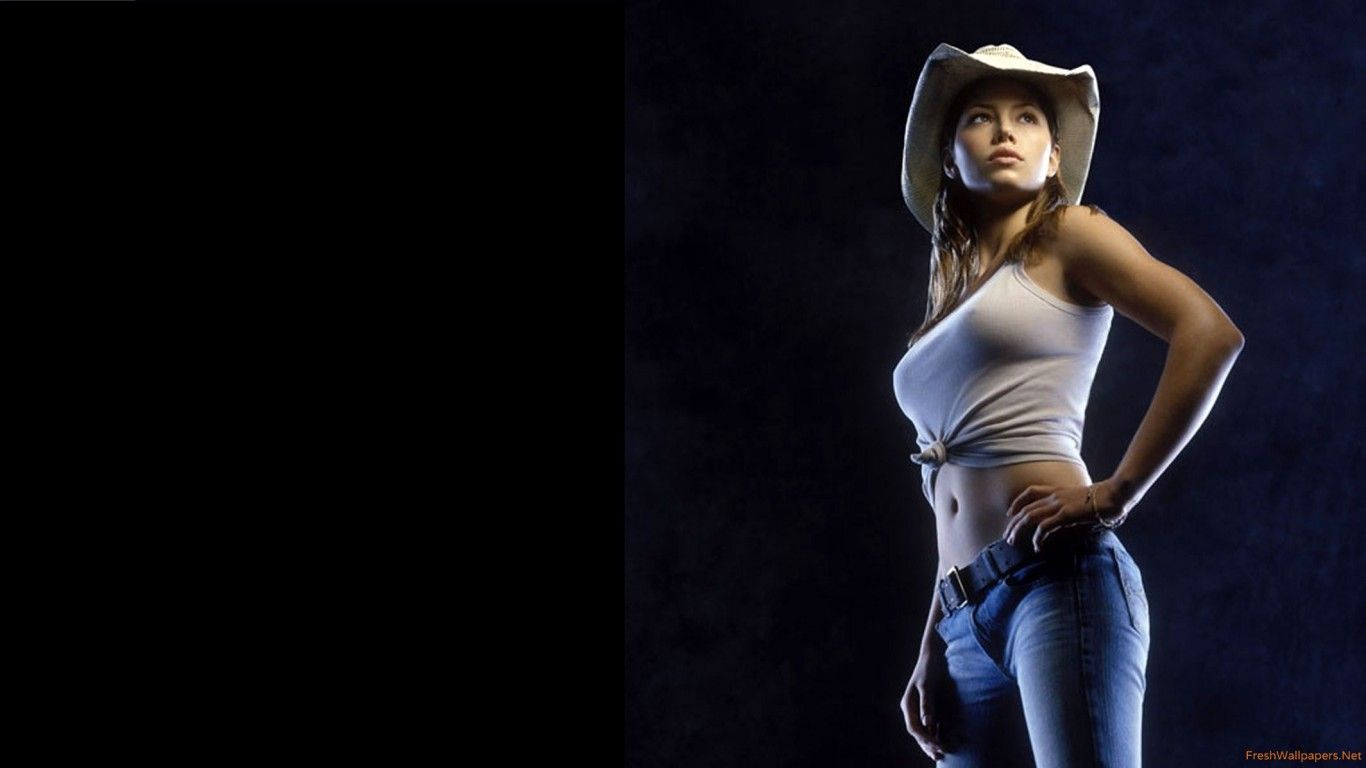 Hot Cowgirl Wallpaper