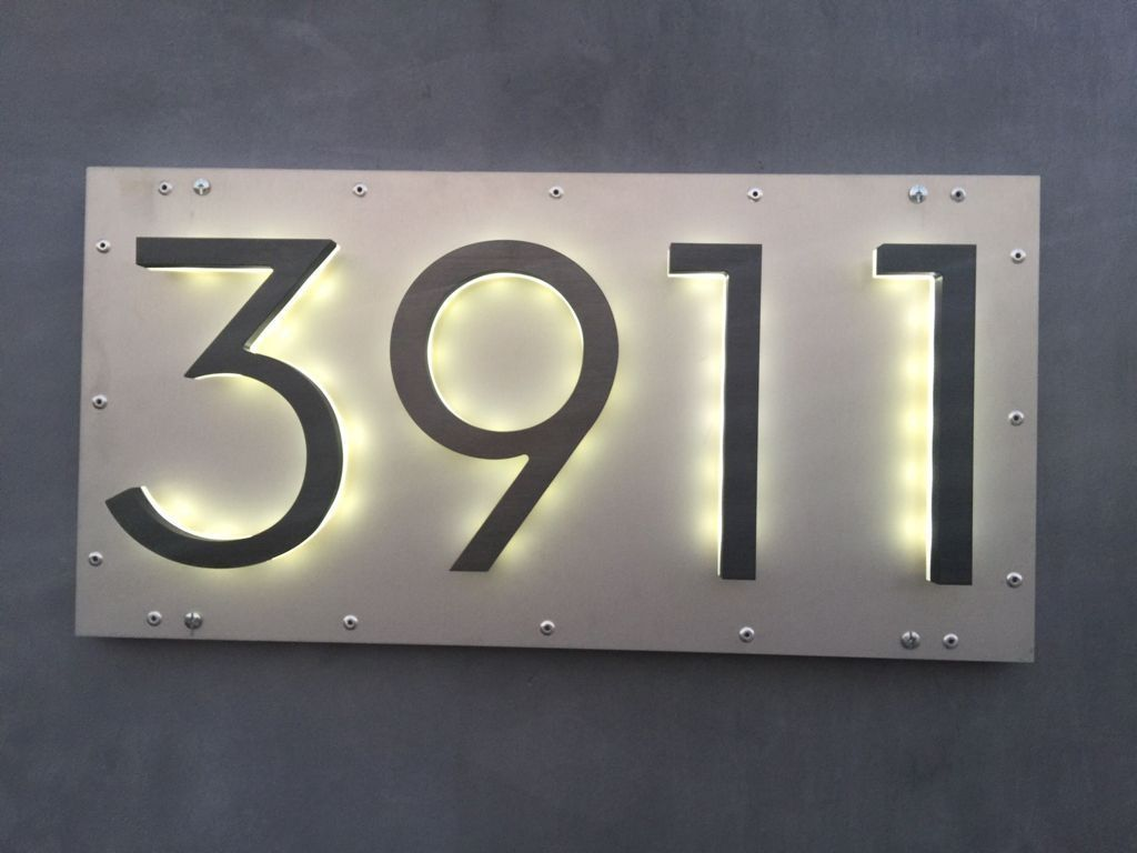 50 Adorable Diy Modern Address Plate Design Ideas Led House