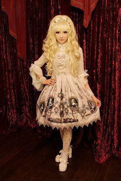 "~ Ichigo Kissaten ~ Strawberry Cafe ~, Our outfits for ""Spring lolita Meet-up""…"