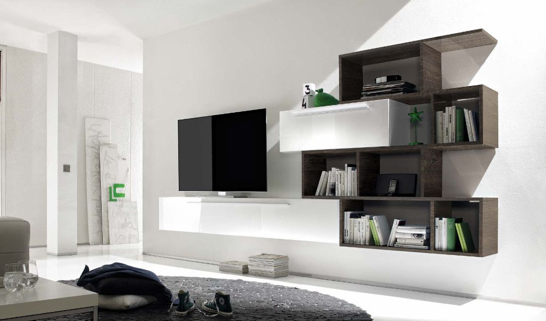 Stunning Mobile Soggiorno Bianco Ideas - Brentwoodseasidecabins.com ...