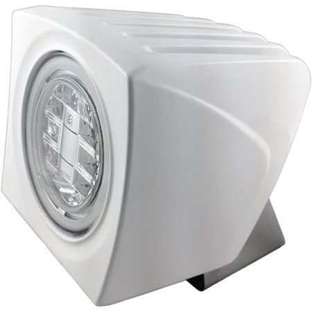 Perko LED Utility Light w//Snap-On Front Cover White