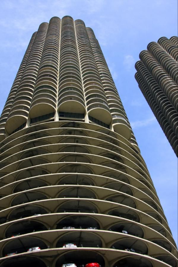 Marina City the corn cobs of the midwest in Chicago, IL