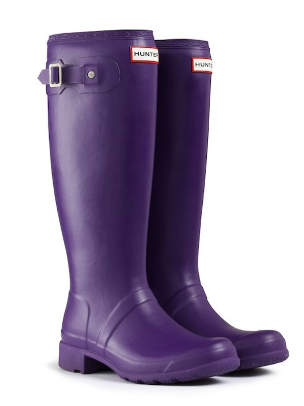 Foldable tall Rain Boots, hmmm, me thinks good Grand Canyon investment? Purple  Hunter ...