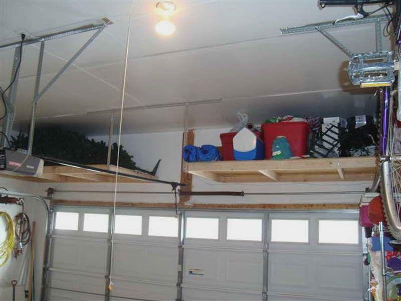 Garage Storage Ideas Ceiling Http Interiorfun Xyz 0715 Storage Design Idea Garag Diy Overhead Garage Storage Garage Storage Shelves Overhead Garage Storage