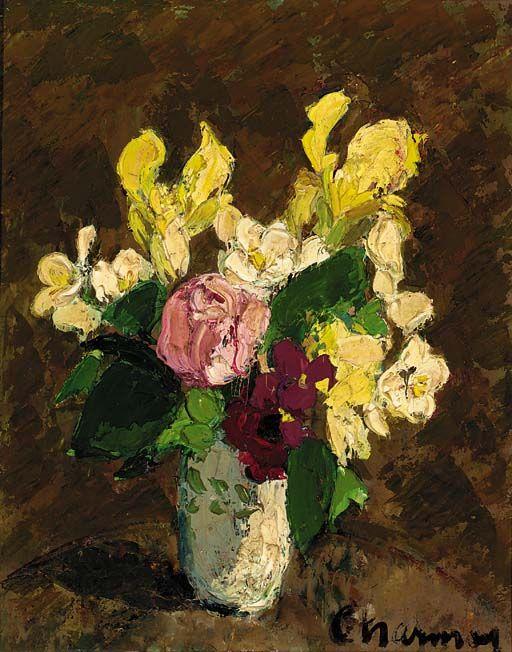Nature morte au vase, Emilie Charmy. French (1877 - 1974)