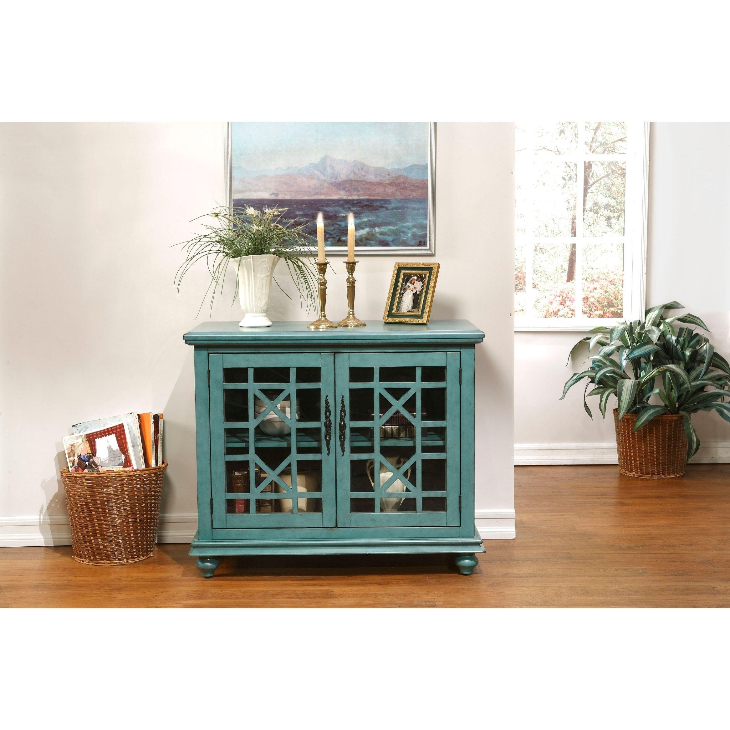 Martin svensson home small spaces elegant door accent cabinet tv