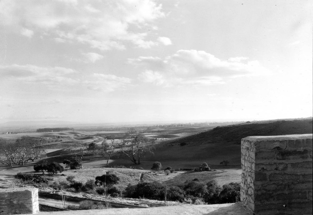 Rural view from the home of Arthur Brent in Bel Air, 1927. Courtesy of the Los Angeles Area Chamber of Commerce Collection, USC Libraries.