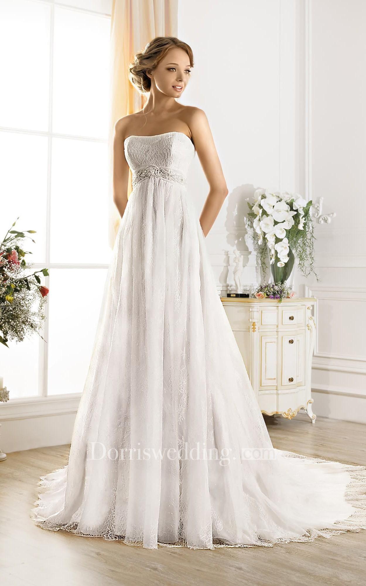 Dorris wedding dorris wedding aline maxi strapless sleeveless