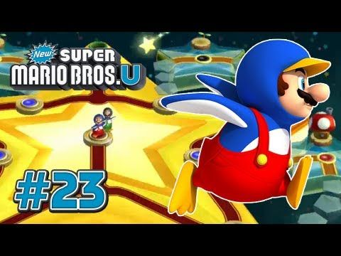New Super Mario Bros U Wii U   Star World Part 2   100%