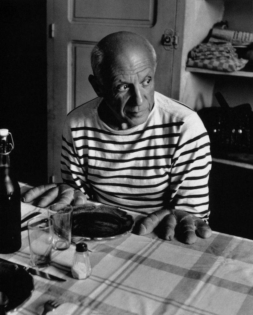 Pablo Picasso par Robert Doisneau