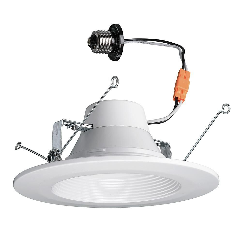Commercial Electric 4 in  T40 Lumen and Color Changeable White