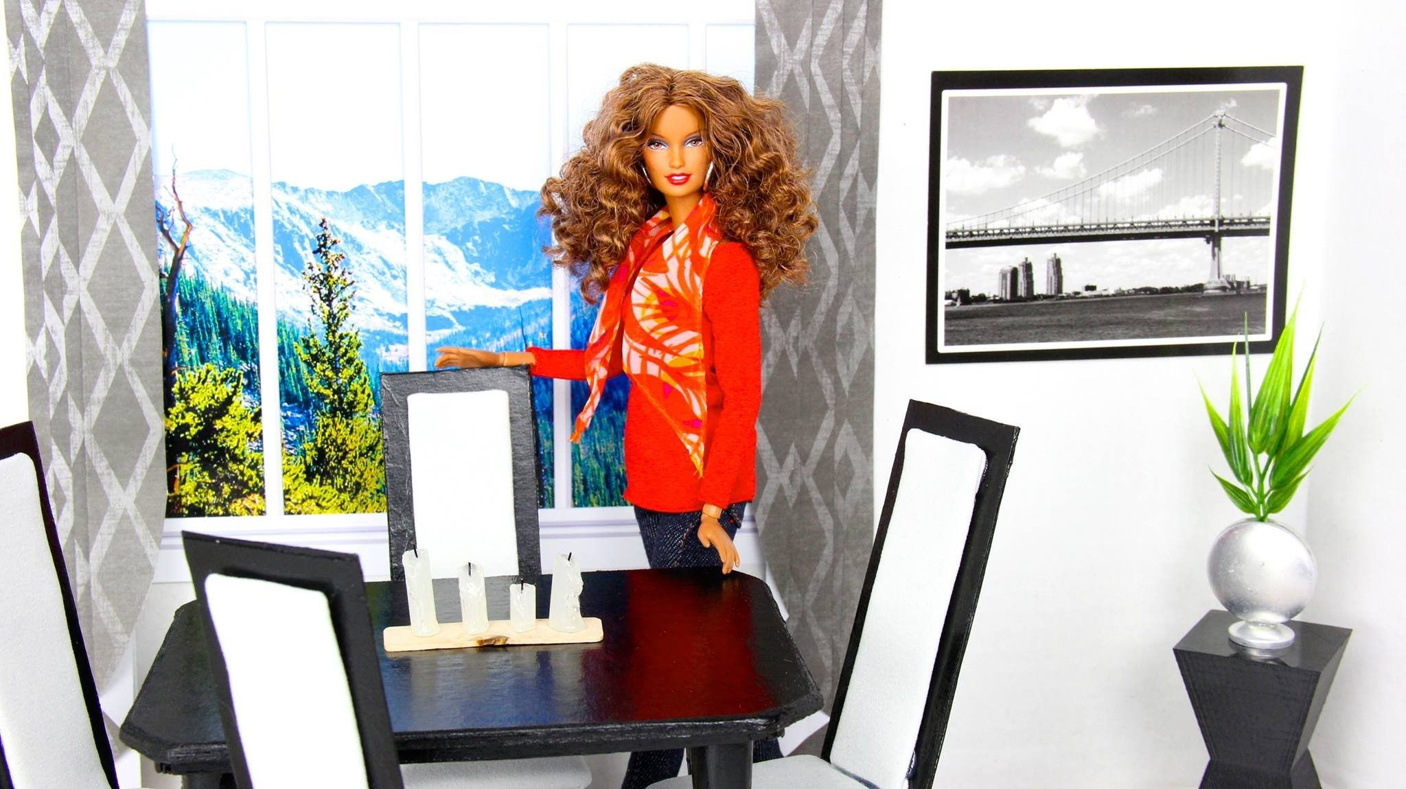 How To Make A Doll Dining Room Table Chair Set See