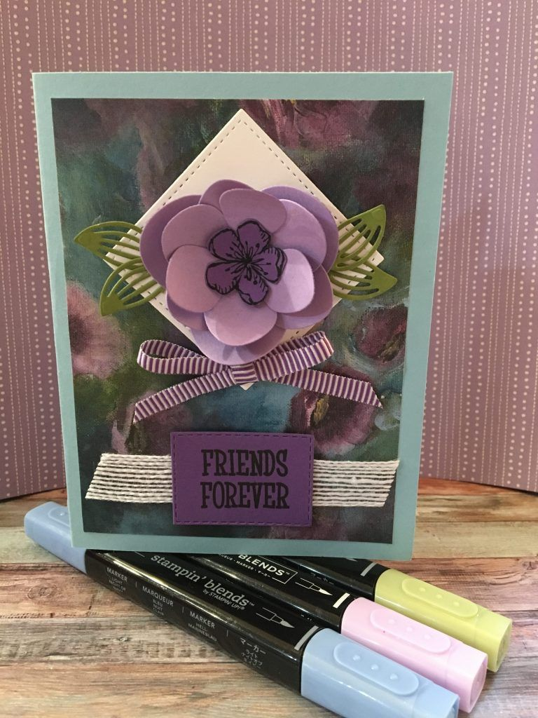 Purple Magnolia Essence My Stampin Dreams Magnolia Flowers Perennials Essence